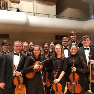 Huxford Symphony Orchestra with the Tuscaloosa Symphony Orchestra